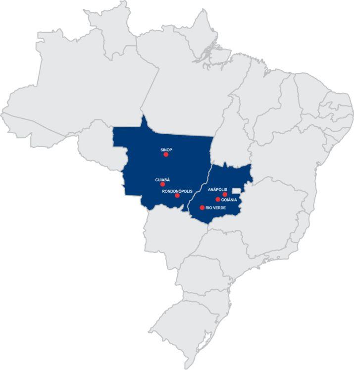 Mapa de unidades